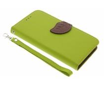 Groen blad design TPU booktype Acer Liquid Z6