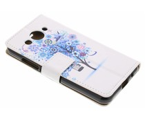 Design TPU booktype hoes Huawei Y3 (2017)
