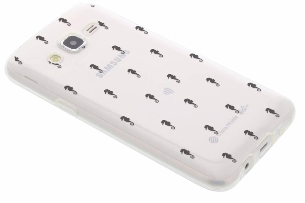 Zeepaardje design TPU hoesje voor de Samsung Galaxy J5