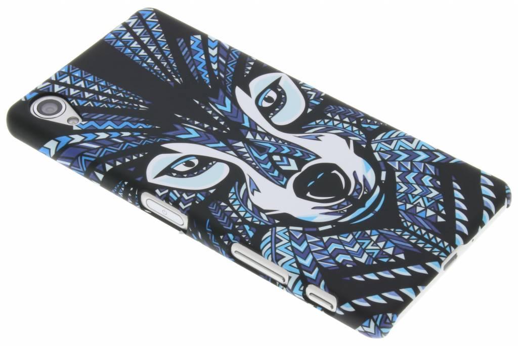 Wolf aztec animal design hardcase hoesjevoor de Sony Xperia X