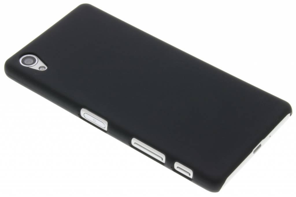 Zwart effen hardcase hoesje voor de Sony Xperia X