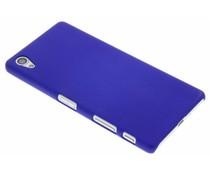 Blauw effen hardcase hoesje Sony Xperia X
