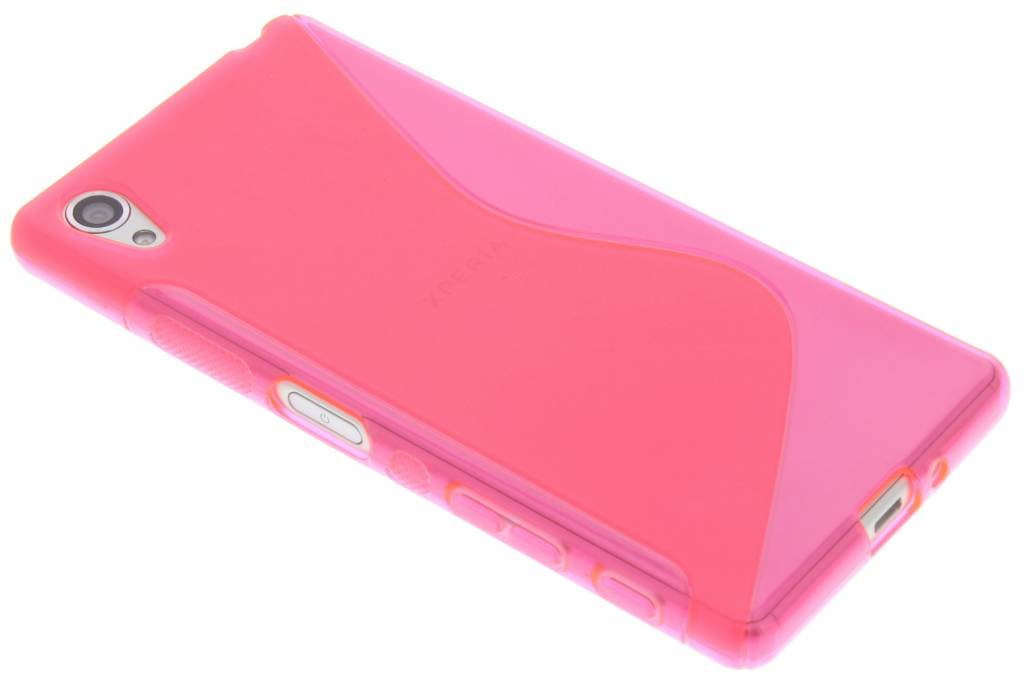 Roze S-line TPU hoesje voor de Sony Xperia X