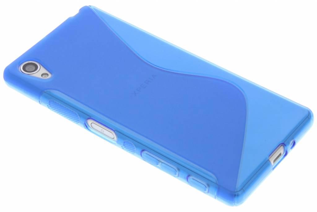 Blauw S-line TPU hoesje voor de Sony Xperia X