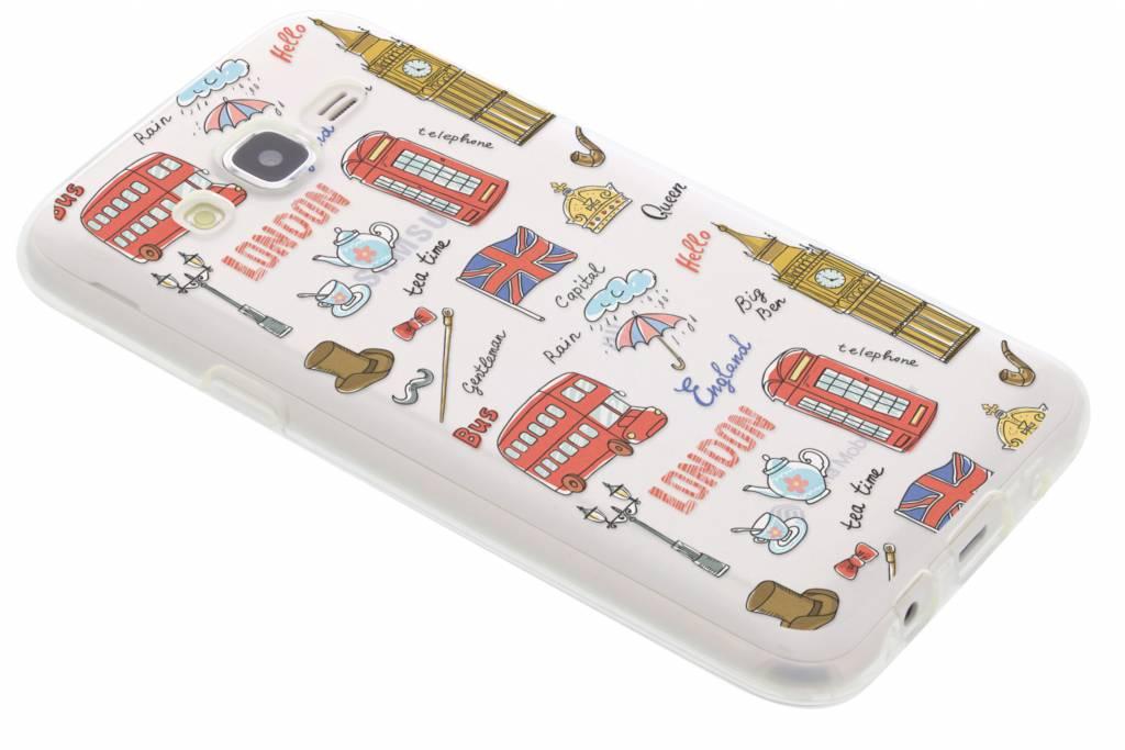 Londen design TPU hoesje voor de Samsung Galaxy J5