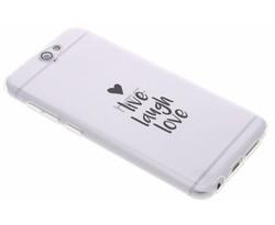 Quote design TPU hoesje HTC One A9