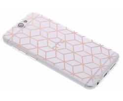 Cubes design TPU hoesje HTC One A9