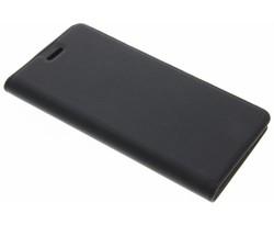 Zwart effen booklet Nokia 6