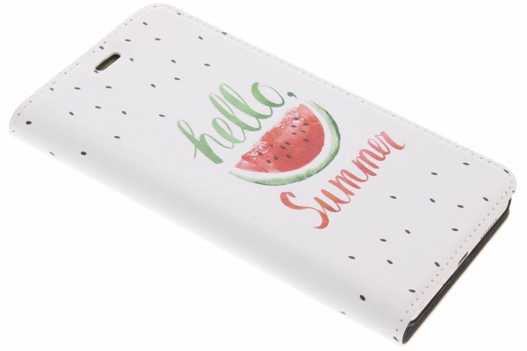 Watermeloen Design Booklet voor de Huawei P10 Lite
