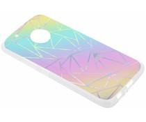 Holographic design case Motorola Moto G5 Plus
