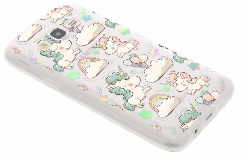 Holographic unicorn case voor de Samsung Galaxy J5