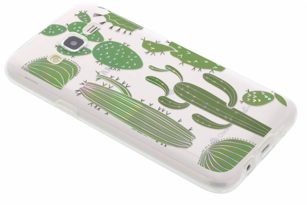 Holographic cactus case voor de Samsung Galaxy J5