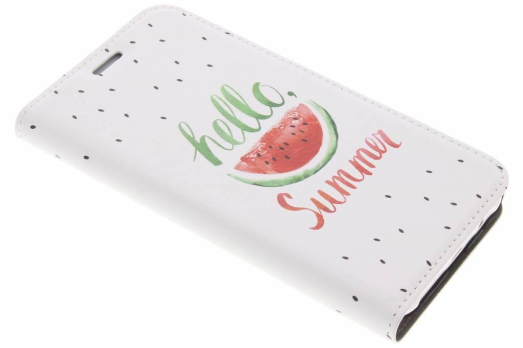 Watermeloen Design Booklet voor de Samsung Galaxy J5
