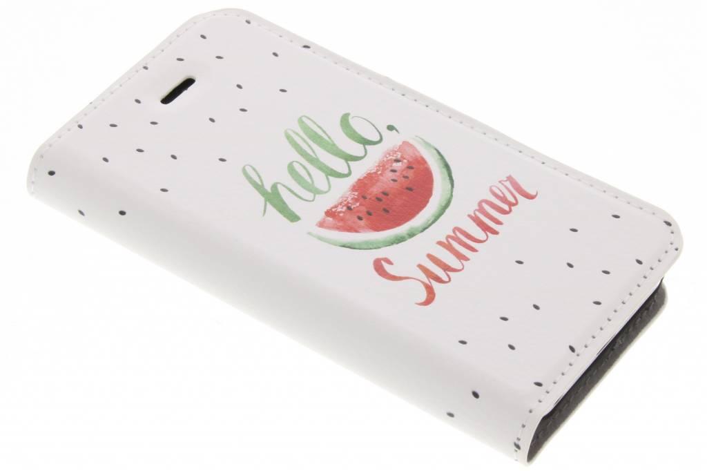Watermeloen Design Booklet voor de iPhone 5C