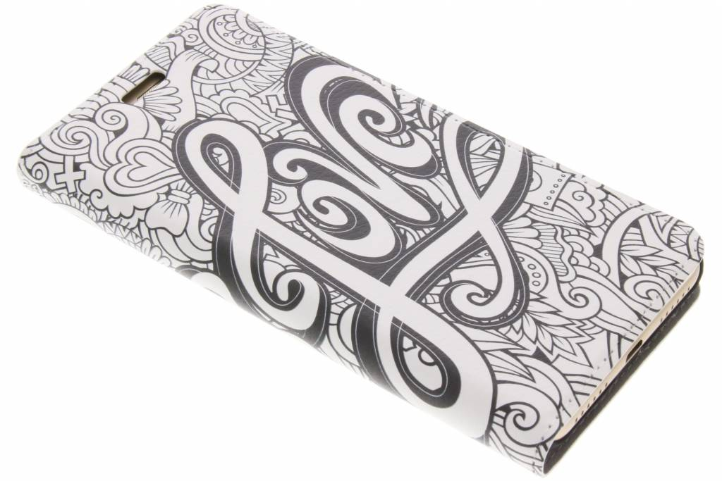 Love Design Booklet voor de Huawei Y5 2 / Y6 2 Compact