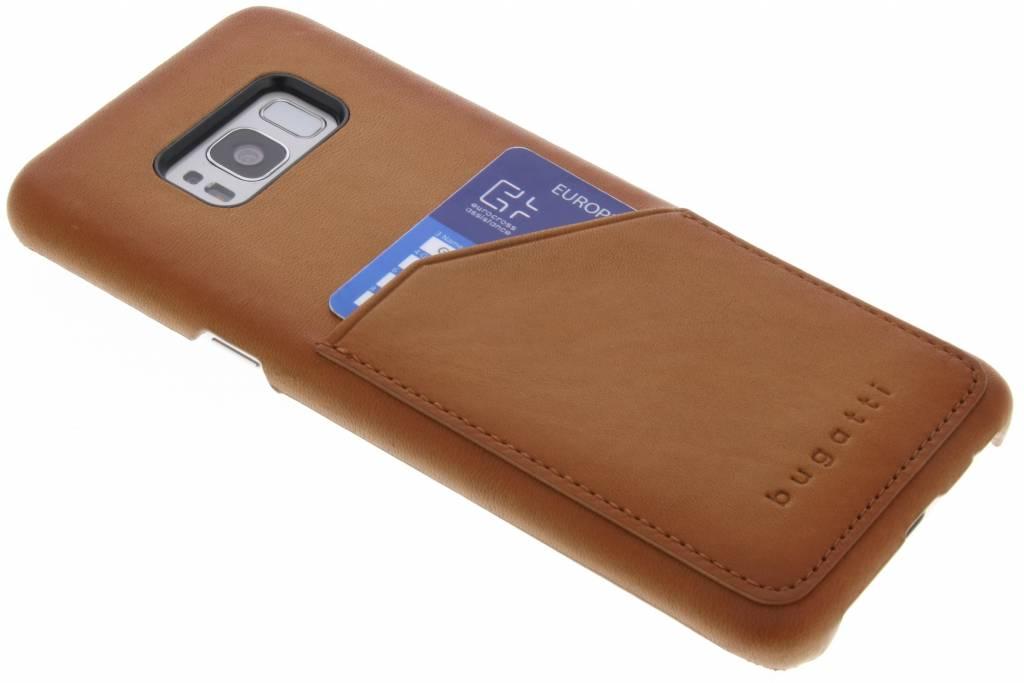 Bugatti Bruine Londra Snap Case voor de Samsung Galaxy S8 Plus