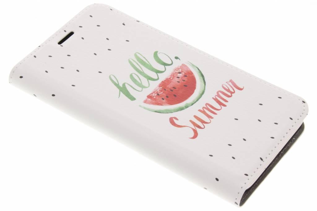Watermeloen Design Booklet voor de Samsung Galaxy J3 / J3 (2016)