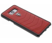 Ferrari Scuderia Leather Hard Case Samsung Galaxy S8 Plus
