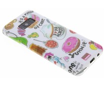 Blond Amsterdam Piece of cake softcase Samsung Galaxy S8 Plus