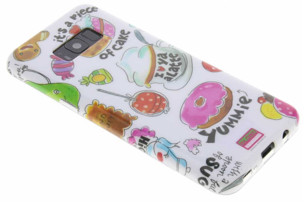 Blond Amsterdam Piece of cake softcase voor de Samsung Galaxy S8 Plus