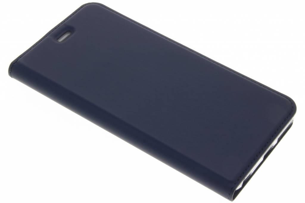 Blauwe Slim TPU Booklet voor de iPhone 6(s) Plus