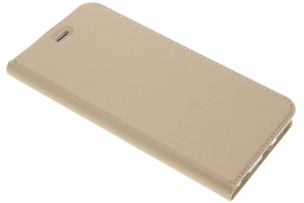 Gouden Slim TPU Booklet voor de iPhone 6(s) Plus