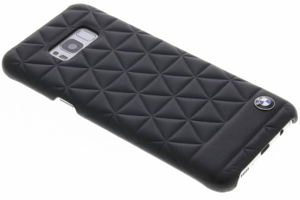 BMW Zwarte Hexagon Hard Case voor de Samsung Galaxy S8 Plus