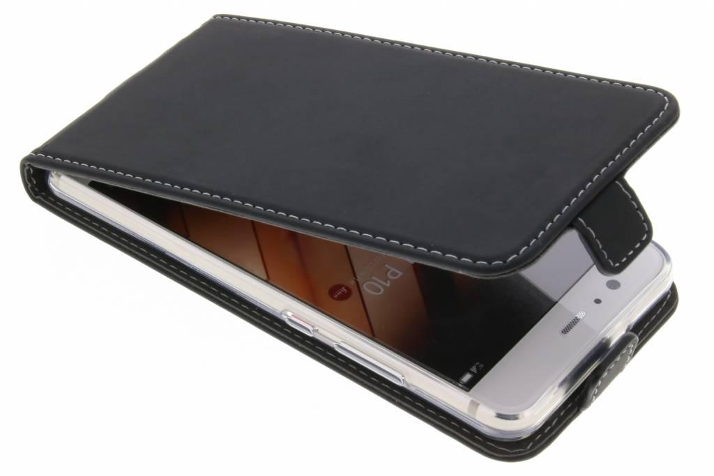Accezz Zwarte TPU Flipcase voor de Huawei P10