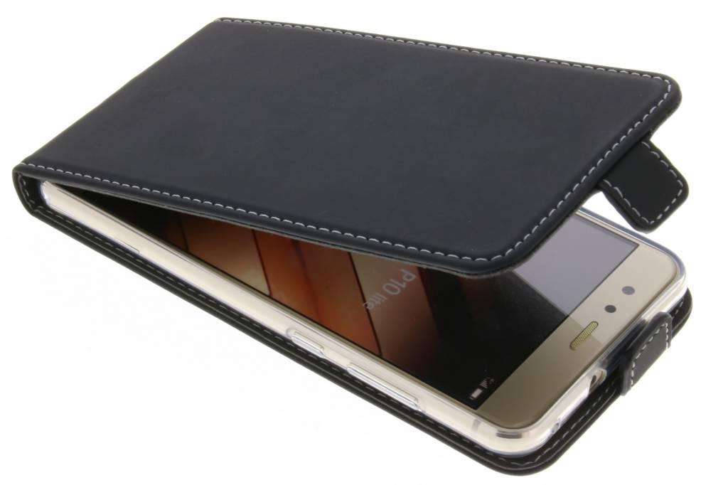 Accezz Zwarte TPU Flipcase voor de Huawei P10 Lite