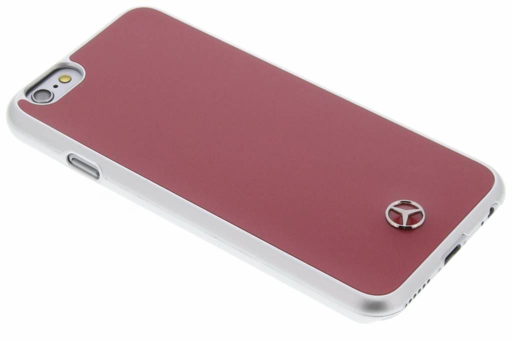 Mercedes-Benz Metallic Plate Hard Case voor de iPhone 6 / 6s - Red