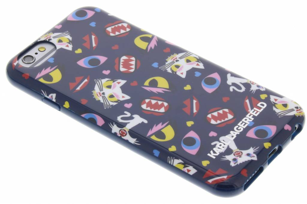 Karl Lagerfeld Monster Choupette All Over Print design TPU Case voor de iPhone 6 / 6s