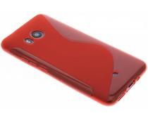 Rood S-line TPU hoesje HTC U11