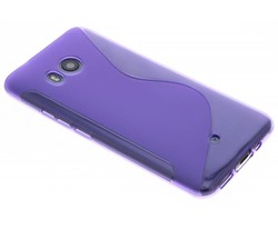 Paars S-line TPU hoesje HTC U11