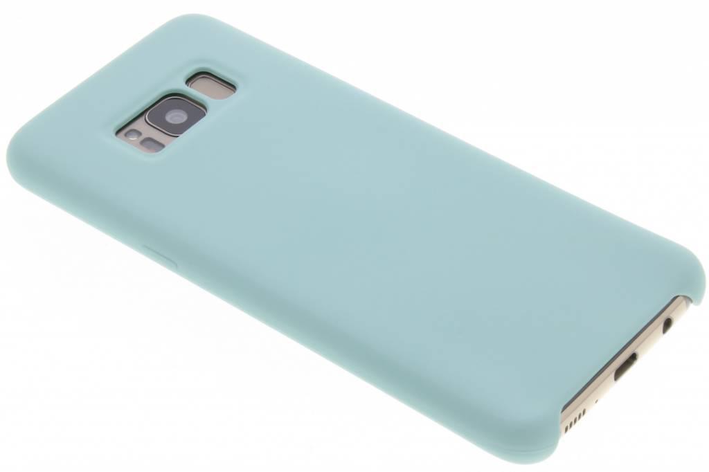Blauwe siliconen hoes voor de Samsung Galaxy S8