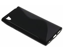 Zwart S-line TPU hoesje Sony Xperia L1
