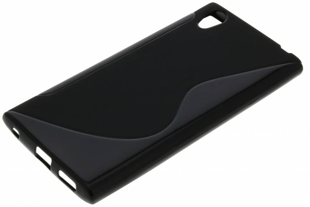 Cas De Gel Noir Pour Le Sony Xperia L1 RTX8y