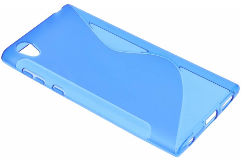 Blauw S-line TPU hoesje voor de Sony Xperia L1