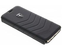 Ferrari Zwart Heritage Leather Book Cover Samsung Galaxy S8