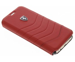 Ferrari Rood Heritage Leather Book Cover Samsung Galaxy S8