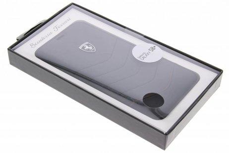 Héritage Noir Couverture De Livre En Cuir Pour Samsung Galaxy S8, Plus