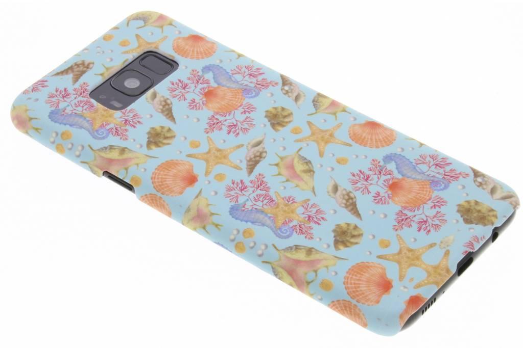 Seashell design hardcase hoesje voor de Samsung Galaxy S8 Plus