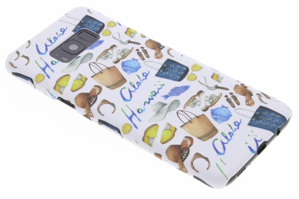 Fashionista design hardcase hoesje voor de Samsung Galaxy S8 Plus