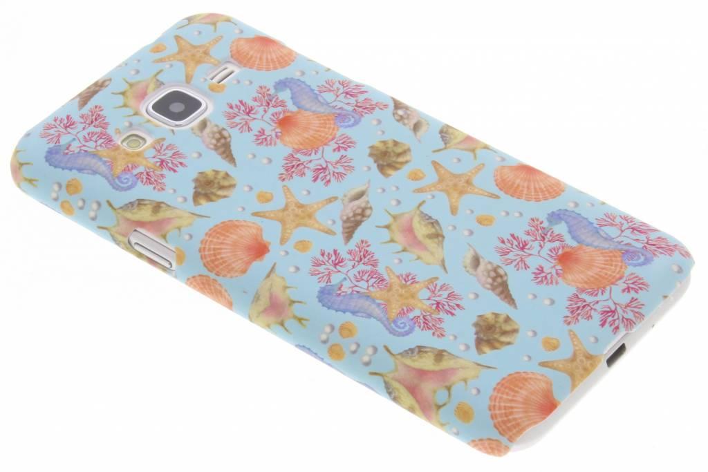 Seashell design hardcase hoesje voor de Samsung Galaxy J3 / J3 (2016)