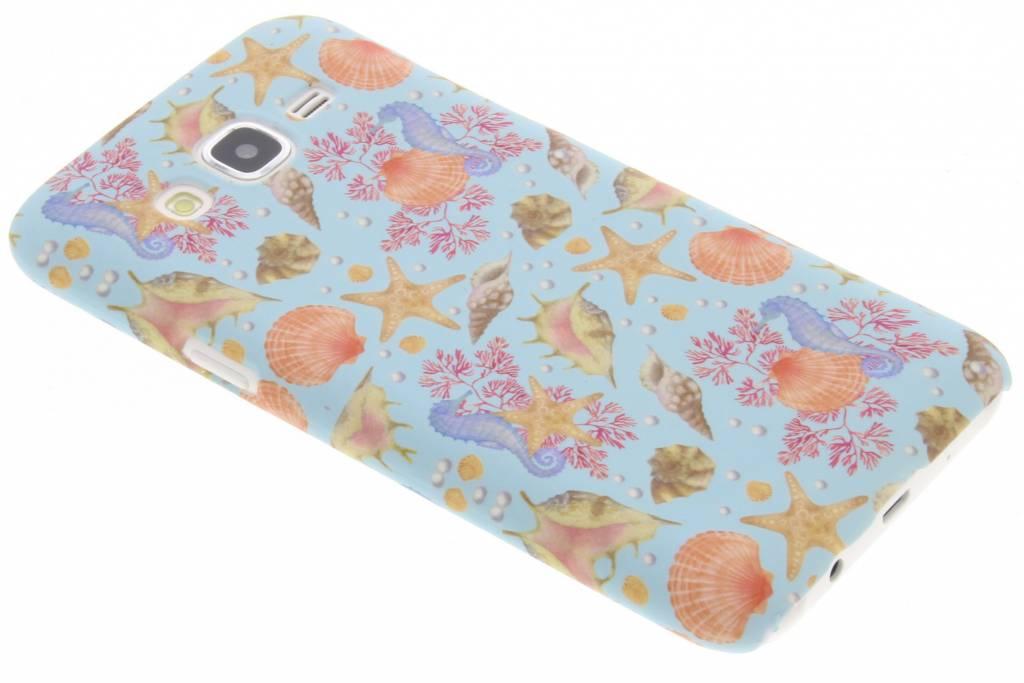 Seashell design hardcase hoesje voor de Samsung Galaxy J5