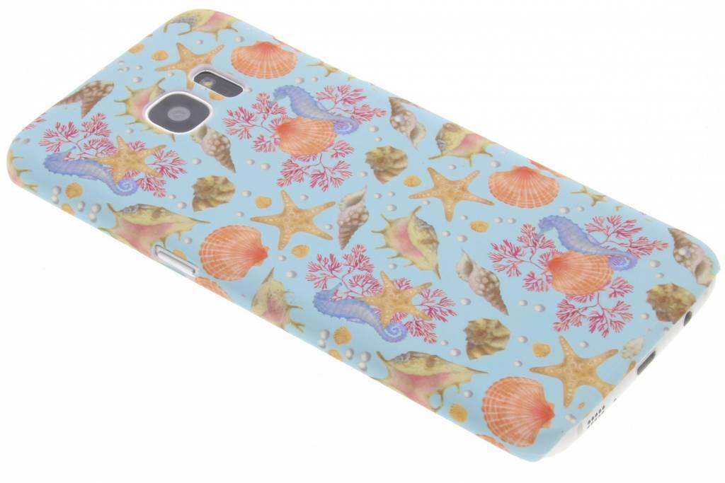 Seashell design hardcase hoesje voor de Samsung Galaxy S7 Edge