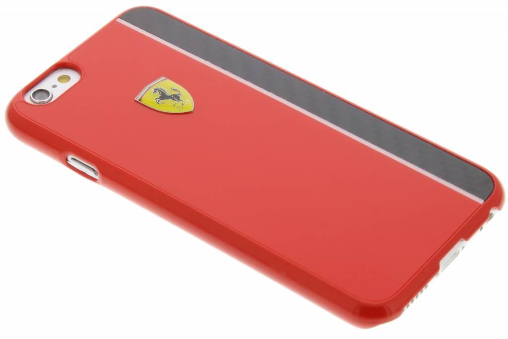 Ferrari Real Carbon Fiber Hard Case voor de iPhone 6 / 6s - Red