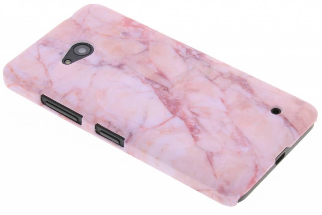 Roze marmer design hardcase hoesje voor de Microsoft Lumia 640