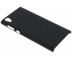 Zwart effen hardcase hoesje Sony Xperia L1