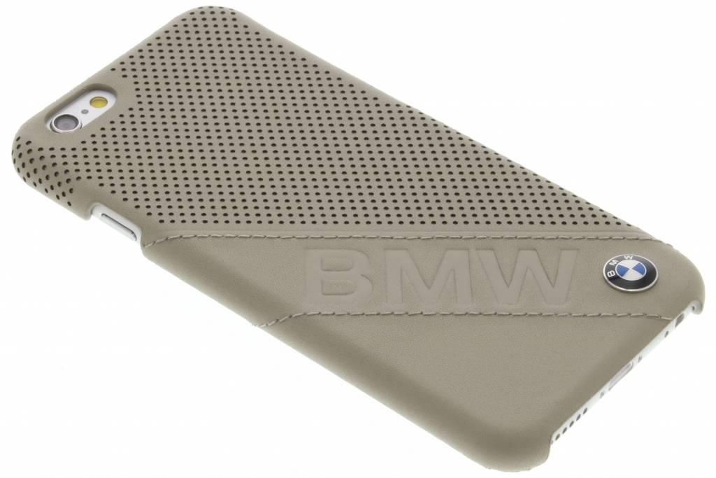 BMW Hard Case Slanted Logo voor de iPhone 6 / 6s - Taupe