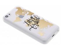 Quote design TPU hoesje iPhone 5c